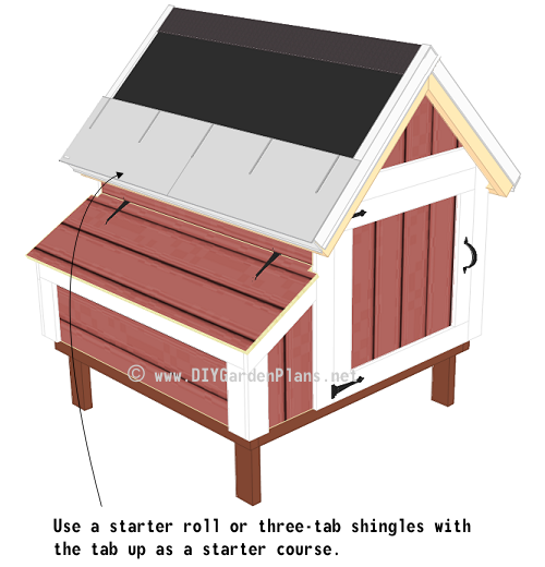 Chicken Coop Plans Shingles