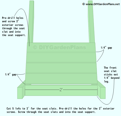Easy Adirondack Chair Plans