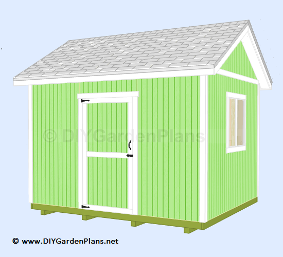12 39 x10 39 gable shed for Gable sheds