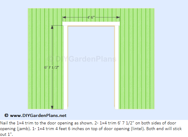 Free shed plans 8x12 gable [] Shed Plan easy