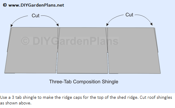 Free 10 x12 shed plans diy sawmill nolaya for How to shingle a shed