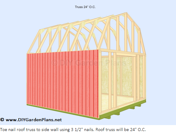 Yia shed plans 8x8 net for Free shed design software with materials list