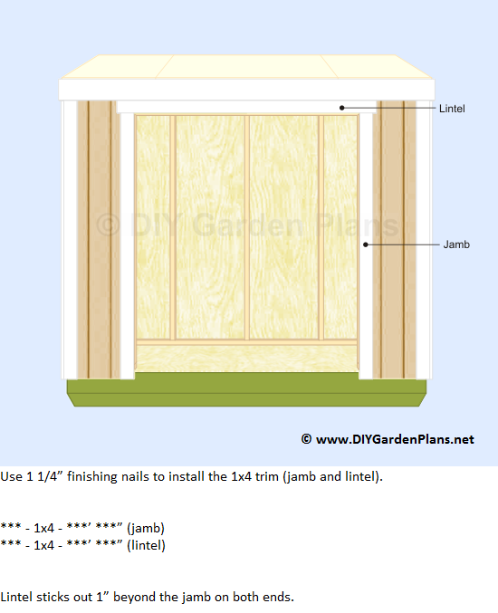 Lean to Shed Plans