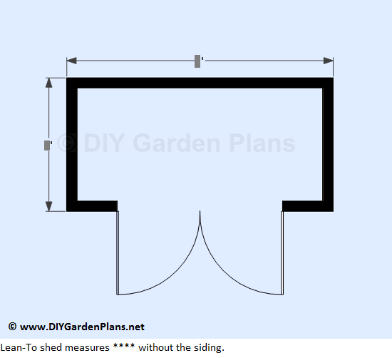 DIY Lean To Shed Page 2: Shed Measurements