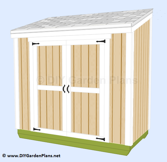 DIY Lean To Shed Build-It-Yourself Guides and Plans