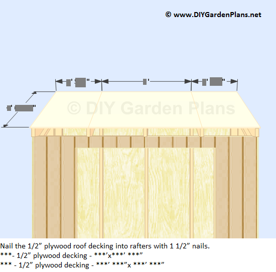 How to install the lean to shed sidewall siding back for 12x10 deck plans