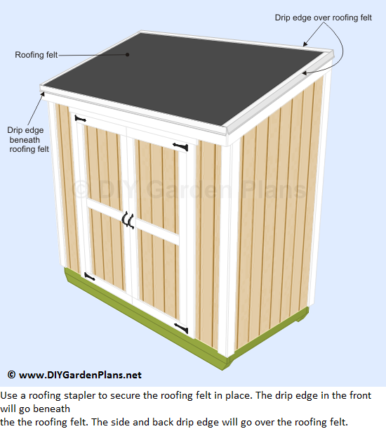 How To Build The Lean To Shed Roof