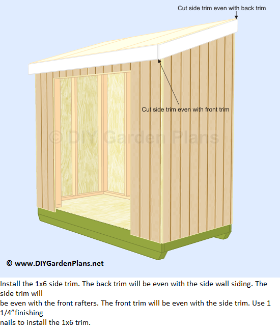 10x8 Shed Plans