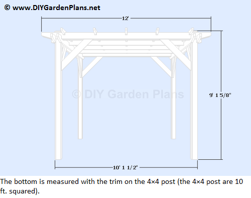 Diy Pergola Project Build It Yourself Guides And Plans