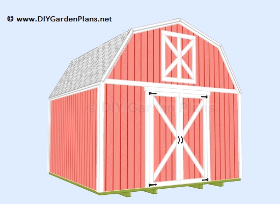 How to build a gambrel shed with our easy to follow plans