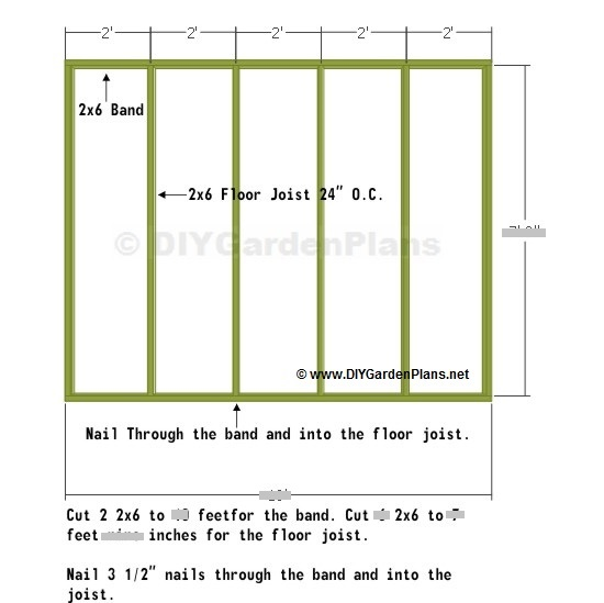 Floor cut list saltbox shed plans page 4 10x10 deck plans