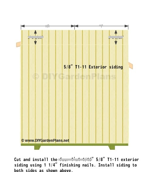 10 X 12 Gambrel Shed Plans 6 X 10 Trailer