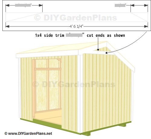 Trim saltbox shed plans page 12 for Free saltbox shed plans