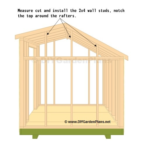 Bobbs free saltbox style shed plans for Saltbox plans
